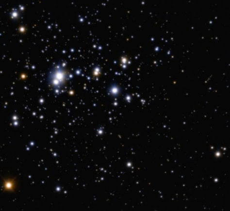 Image: Open cluster known as Trumpler 14