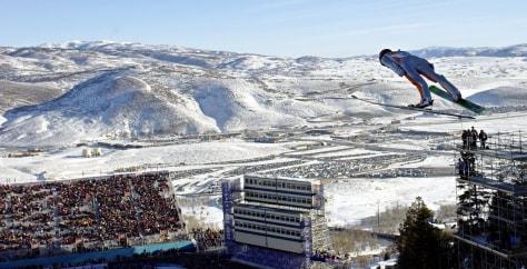 Image: Ski jumper