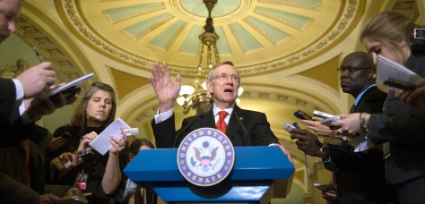 Image: US Senate Majority Leader Sen. Harry Reid