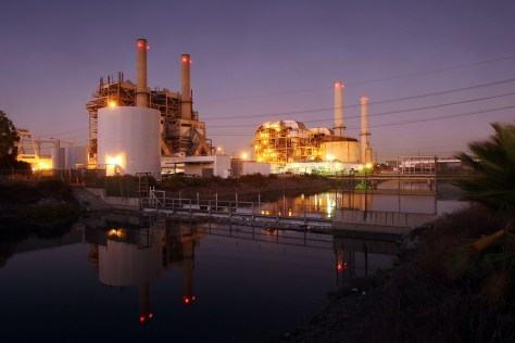 Image: The AES Corporation Alamitos gas-fired power station