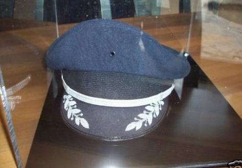Image: Captain Sullenberger's pilot's hat