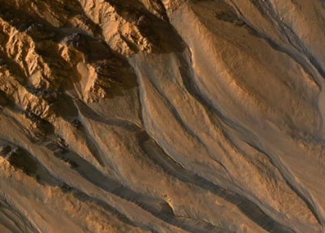 Image: Mars channels