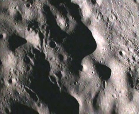 Image: Moon as seen by Chandrayaan instrument
