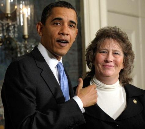 Image: Barack Obama, Nancy Fichtner