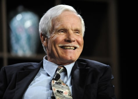 Image: Ted Turner participates in the 2010 Milken Institute Global Conference in Beverly Hills, California