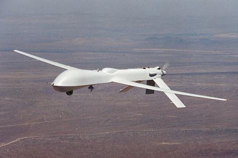 Image: The Predator medium-altitude long-endurance UAV