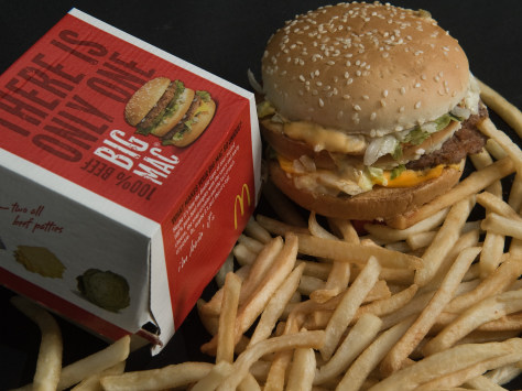 Image: McDonald's Big Mac and French Fries