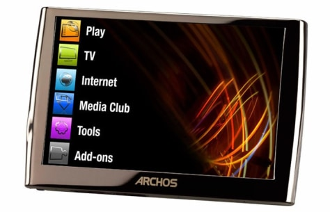Image: Archos 5 Internet Media Tablet