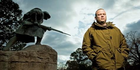 Image: Army Sergeant Patrick Peake