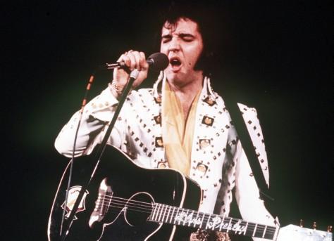 Image: Elvis Presley, 1973