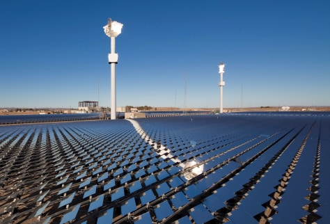 Image: Solar thermal power plant