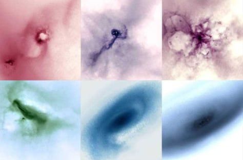 Image: Galaxy formation