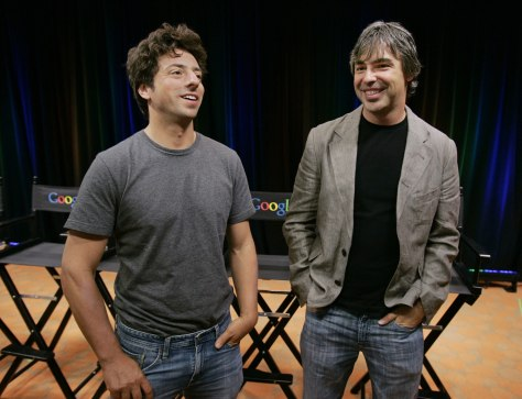 Image: Larry Page, Sergey Brin