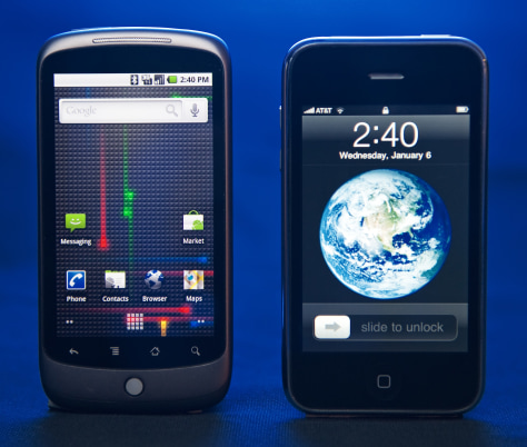 Image: Nexus One, iPhone