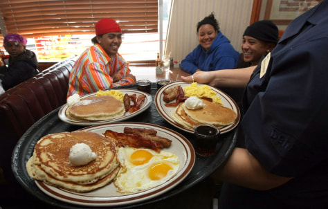 Image: Denny's breakfast