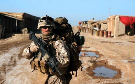 Image: U.S. Marines with 1/3 Marines Charlie Comp