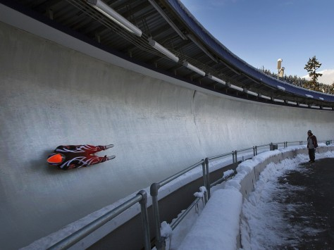 Image: Olympic Sliding Centre in Whistler