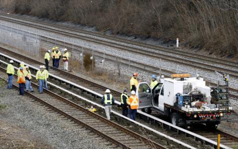 Image: Metro accident scene
