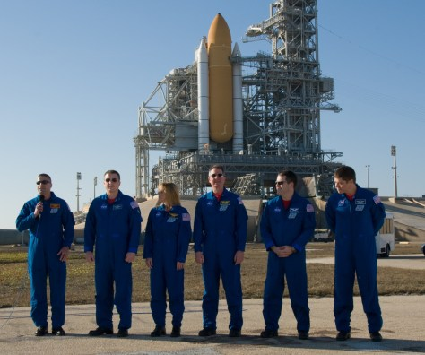Image: Crew at pad
