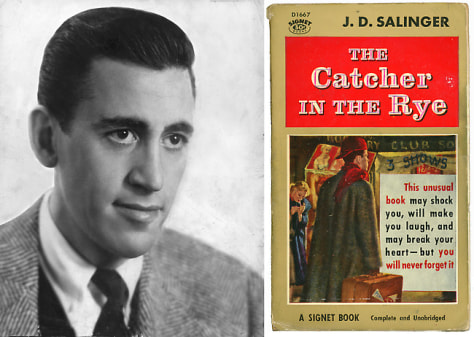 Image: J.D. Salinger and Catcher in the Rye