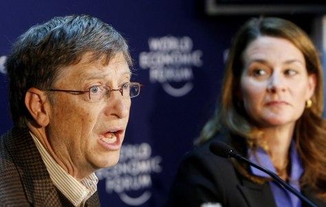 Image: Bill and Melinda Gates