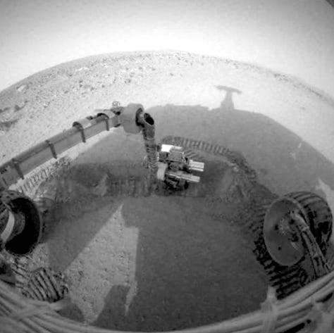 Image: Mars Spirit rover