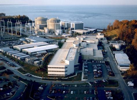 Image: Calvert Cliffs nuclear plant