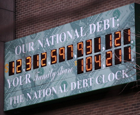 Image: The National Debt Clock