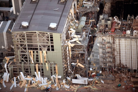 Image: Damaged Kleen Energy Systems plant in Middletown, Conn.