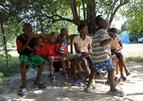 Image: Haitian children