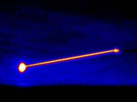 Image: Laser blast