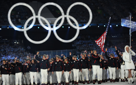 Image: U.S. team marches in Opening Ceremony