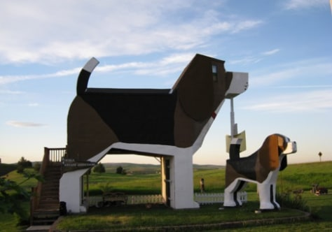 Image: Dog Bark Park Inn