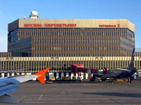 Image: Sheremetyevo International Airport, Moscow