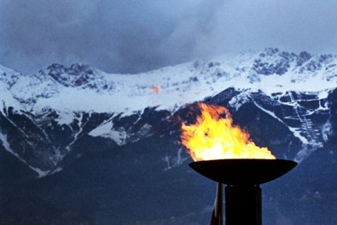 Image: Olympic flame