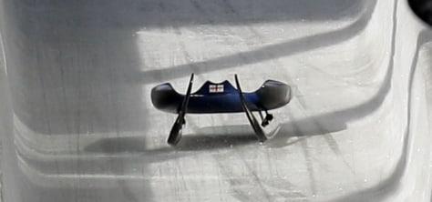 Image: Nodar Kumaritashvili's sled