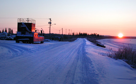 Image: Inuvik in northern Canada