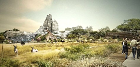 Image: Ruture Vincennes zoo
