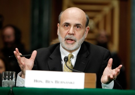 Image: Fed Chair Bernanke Testifies On Monetary Policy To Senate Committee
