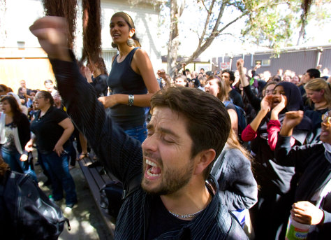Image: UC San Diego rally