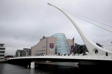 Image: Samuel Beckett bridge