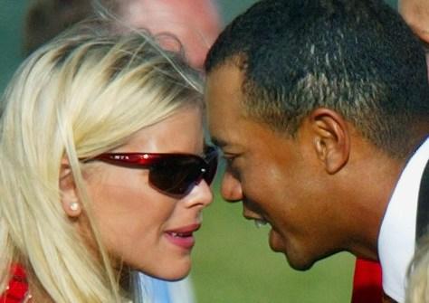 Image: Tiger Woods, Elin Nordegren
