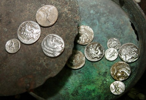 Image: Hellenistic coins discovered