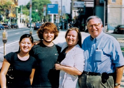 Image: Terence Foley and family