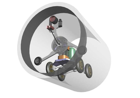 Image: Pipe robot