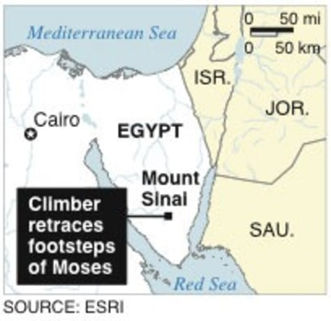 In the footsteps of Moses, climbing Mount Sinai - Travel