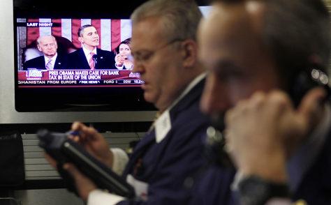 Image: Traders, Obama