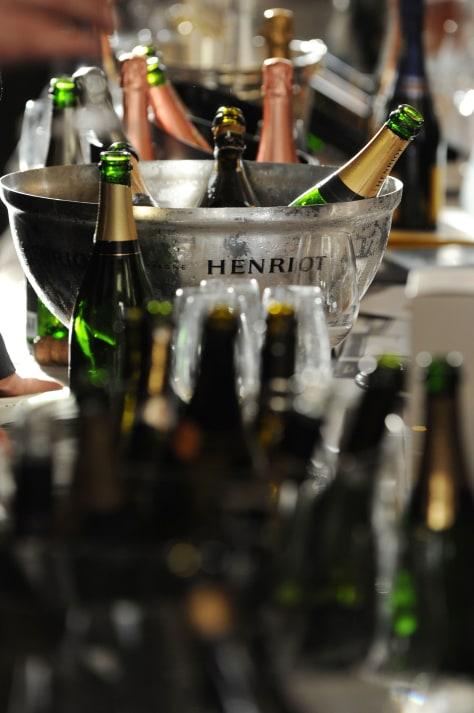 Image: Champagne bottles