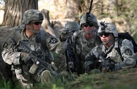 Image: U.S. Army conducts operations in Afghanistan
