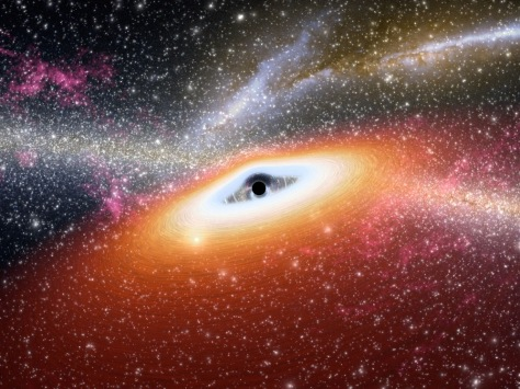 Image: Young black hole